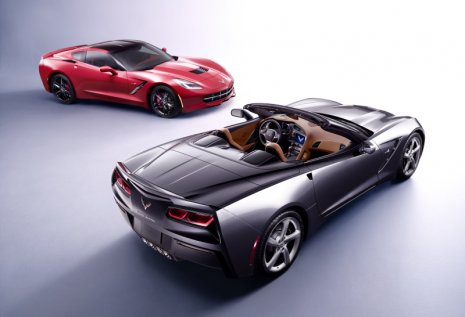 Chevrolet Corvette Stingray convertible and coupe