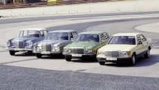 Jesień 1972 roku, salon samochodowy we Frankfurcie. Mercedes-Benz prezentuje nową generację flagowej […]