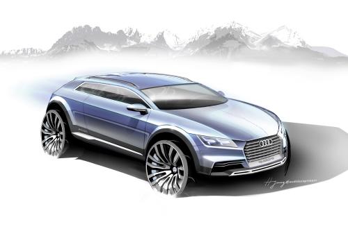Audi Showcar Detroit 2014