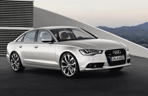 Audi A6/Standaufnahme