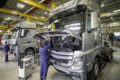 Mercedes-Benz Custom Tailored Trucks Molsheim plant