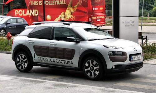W Łodzi odbyła się premierowa prezentacja nowego Citroena C4 Cactus, który właśnie […]