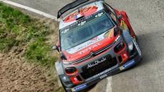 Kris Meeke i Paul Nagle (Citroën C3 WRC) prowadzą po drugim etapie […]