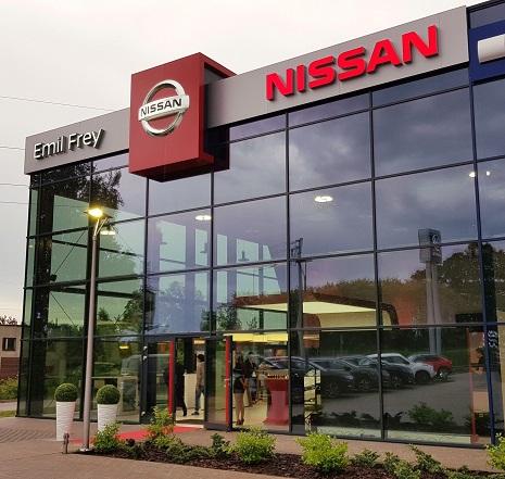 Nowy salon Nissana w aglomeracji łódzkiej
