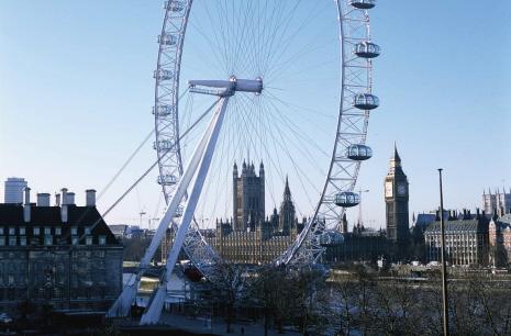 London Eye - 3/4 view,