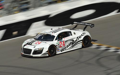 Audi-Kunden geruestet fuer Daytona
