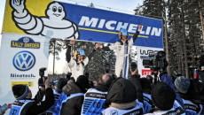 Sebastien Ogier w Volkswagenie Polo R WRC wyposażonym w opony Michelin X-ICE […]
