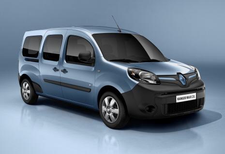 New 5 Renault Kangoo Maxi Z.E.