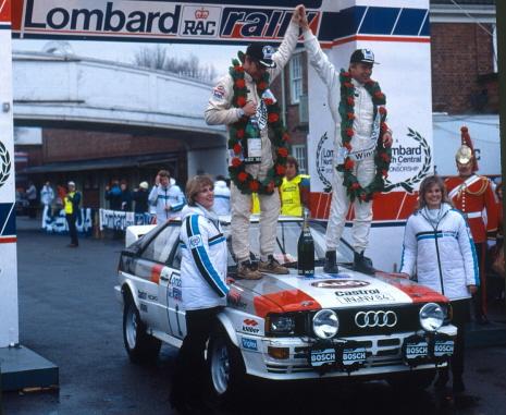 Mit Audi Tradition international unterwegs