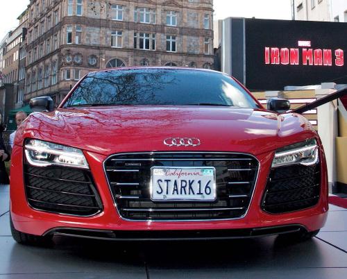?Iron Man 3?-Premiere mit Audi R8 e-tron