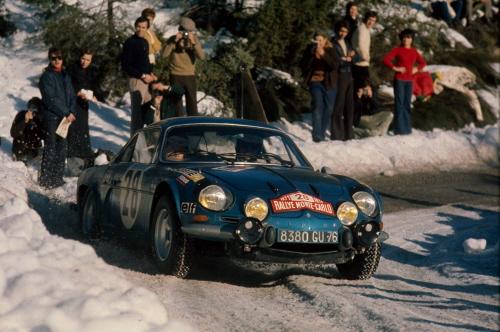1.Renault Alpine