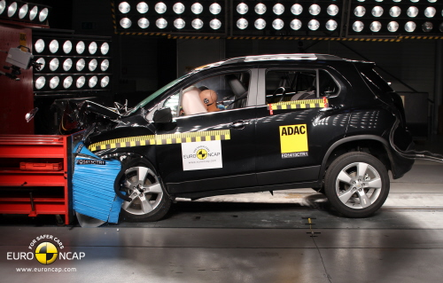Chevrolet Trax - Euro NCAP frontal crash