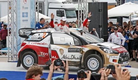WORLD RALLY CHAMPIONSHIP 2013 - WRC RALLY ACROPOLIS