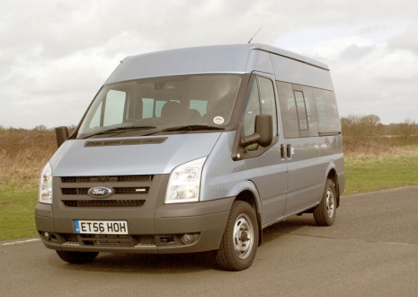 Uk New Ford Transit Nine-seat Shuttle Bus