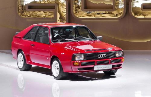 quattro im Scherenschnitt: Audi auf der Design Miami/Basel