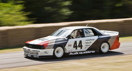 Audi feiert drei grosse Jubilaeen in Goodwood