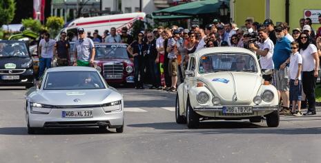 Volkswagen siegt auf der Silvretta Rallye 2013