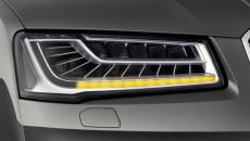 W nowym Audi A8, kierunkowskazy mają formę zapalających się kolejno świetlnych segmentów. […]