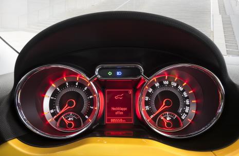 Opel, Adam, Interior