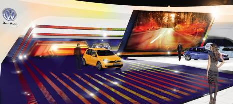 Der Volkswagen Stand auf der IAA 2013