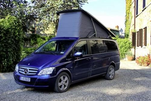 Mercedes-Benz Viano Marco Polo: Der alltagstaugliche Kompakt-Campingbus.