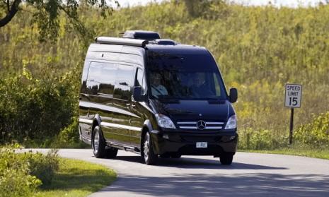 Mercedes-Benz Sprinter: Der Sprinter dient auch international als Basisfahrzeug für Wohnmobil-Aus- und Aufbauten.