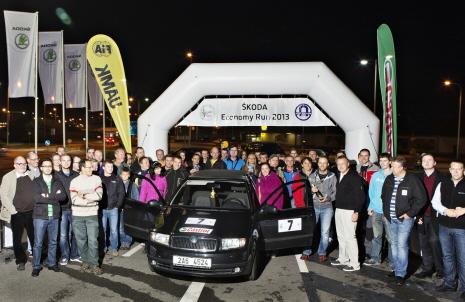 Skoda Economy Run 2013, consumption, competition, fuel