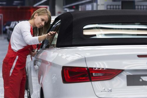 Produktionsstart fuer neues Audi A3 Cabriolet
