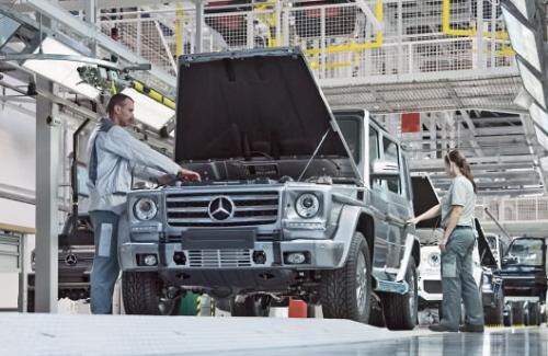 Zusätzliche Produktionskapazitäten für die Mercedes-Benz