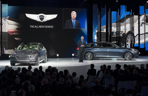 All-New 2015 Hyundai Genesis World Auto Show Debut