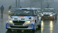 Grzegorz Grzyb i Daniel Siatkowski (Skoda Fabia S2000) prowadzą po pierwszym dniu […]