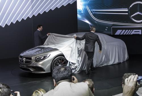 Mercedes-Benz auf der New York International Auto Show (NYIAS), 2014 Mercedes-Benz at the New York International Auto Show (NYIAS 2014) 2014