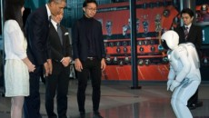 ASIMO, dwunożny humanoidalny robot Hondy, gościł dziś Prezydenta USA, Baracka Obamę w […]