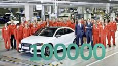 Z taśmy produkcyjnej zjechało właśnie stutysięczne auto wyprodukowane w nowej fabryce Audi […]