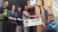 Bezpośrednio do mieszkańców okolic Słowiańska we wschodniej części Ukrainy, dotarła pomoc humanitarna […]