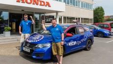 Honda ustanowiła Światowy Rekord Guinnessa w zakresie niskiego zużycia paliwa podczas trwającej […]