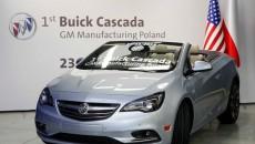 Z linii produkcyjnej zakładów w Gliwicach zjechał pierwszy Buick — kabriolet Cascada […]