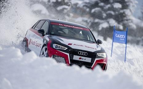 Danny MacAskill (GB), Audi RS 3 Sportback