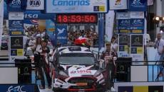Aleksiej Łukjaniuk i Aleksiej Arnautow (Ford Fiesta R5) wygrali Rally Islas Canarias, […]