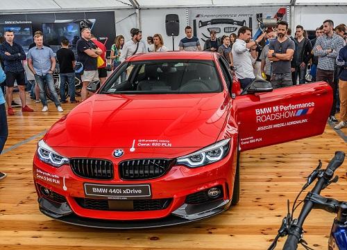 Bardzo dobryFantastyczny BMW M PERFORMANCE ROADSHOW WE WRZEŚNIU W 5 MIASTACH KR24