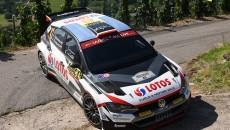 Kajetan Kajetanowicz i Maciej Szczepaniak (Volkswagen Polo GTI R5) zajmuje szóste miejsce […]