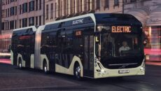 """Autobusy Volvo: turystyczny, międzymiastowy i elektryczny – otrzymały nagrody """"Best Travel High […]"""