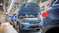 Marka Volvo Cars, w dniu 4 października 2021 roku, rozpoczęła produkcję C40 […]